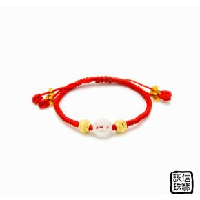 中國結彌月金飾-健康