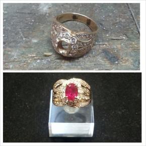 珠寶維修-K金戒指換新爪