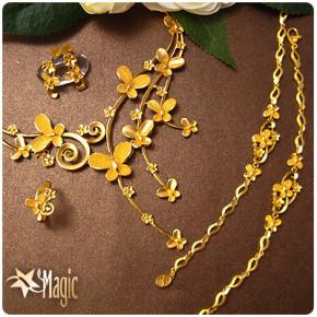 黃金套組-翩翩情意(約重23錢)