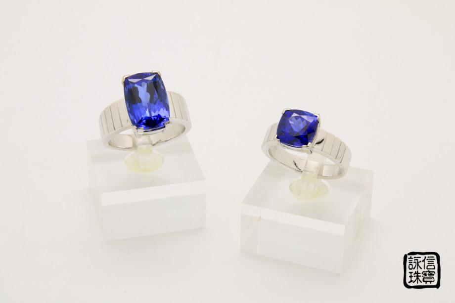 藍寶石對戒2