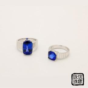 珠寶訂做-藍寶石戒指