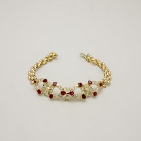 珠寶整新-黃K金手鍊