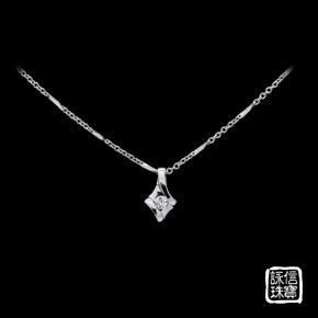 鑽石墜鍊-20分鑽石墜鍊