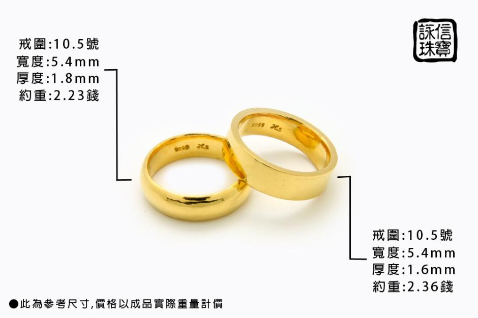 黃金戒指尺寸