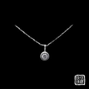 鑽石墜-22分鑽石項鏈