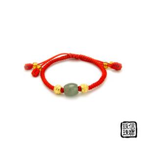中國結彌月金飾-喜樂
