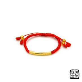 中國結彌月金飾-吉祥