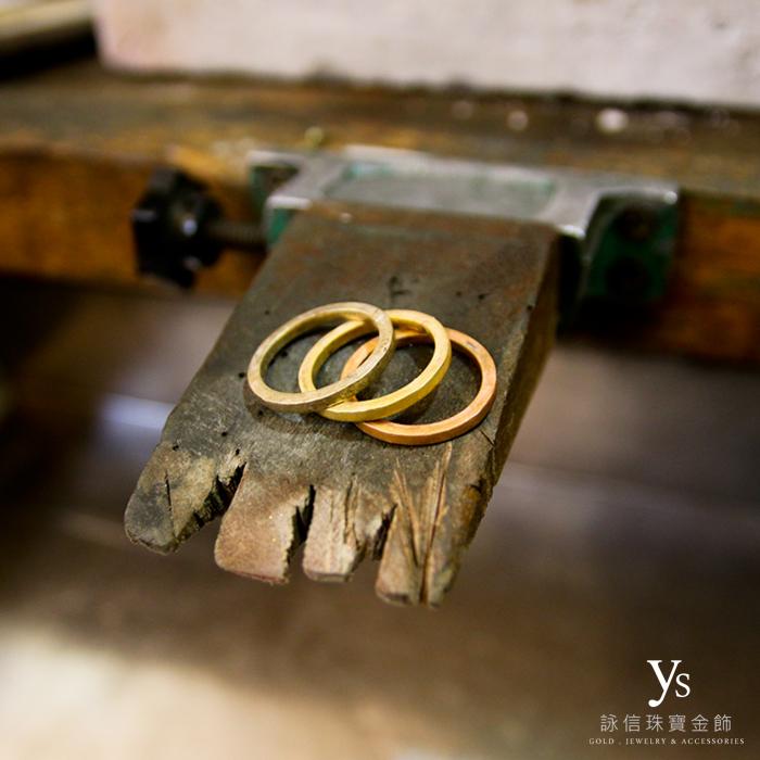 三色金戒指訂做