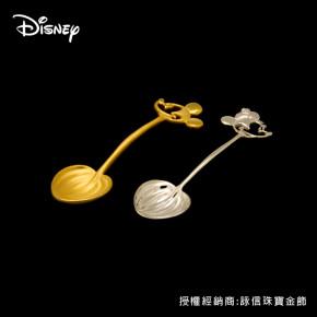 彌月金飾-迪士尼系列(米奇/米妮款)金湯匙