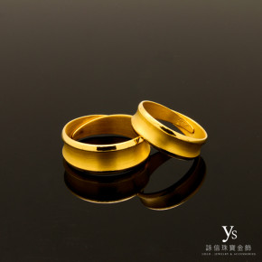 黃金對戒-承諾
