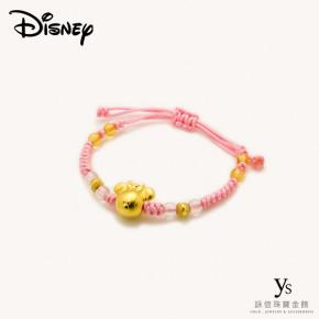 彌月金飾-米妮款中國結手環
