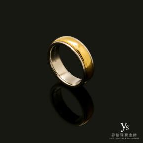 珠寶訂做-旋轉戒指(鉑金、黃金)