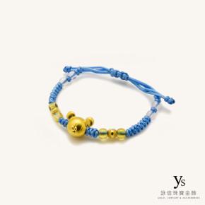 彌月金飾-迪士尼系列中國結手環