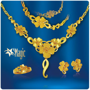 黃金套組-喜氣盈門(約重16錢)