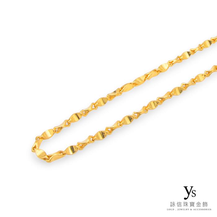黃金項鍊-元寶鍊