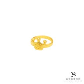 彌月金飾-小王子黃金戒