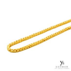 黃金項鍊-文武鍊