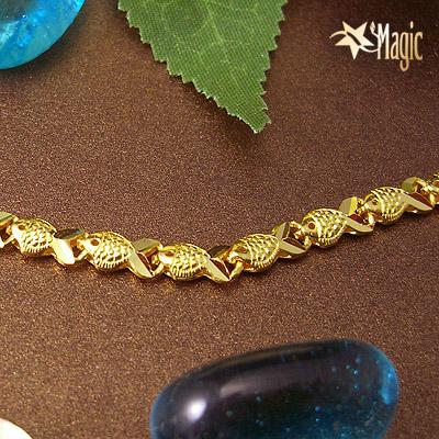 黃金項鍊YSNL001