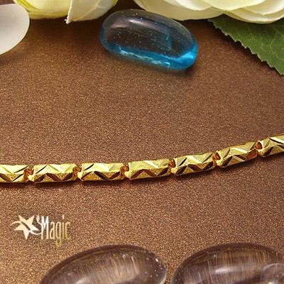 六角黃金項鍊