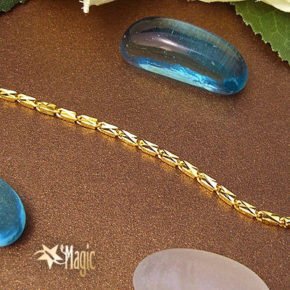 黃金項鍊-刻花黃金項鍊YSNL006