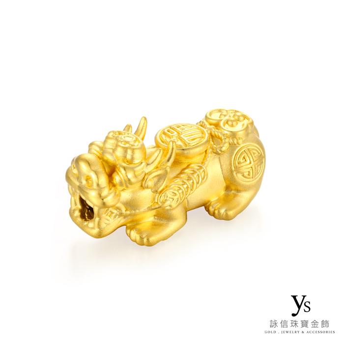 黃金貔貅細節