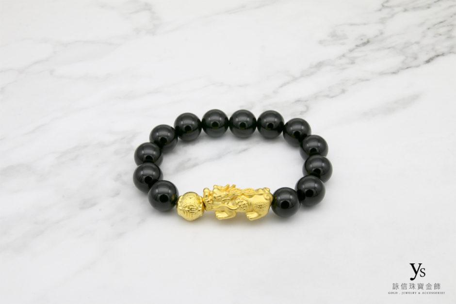 黃金貔貅手珠1842506