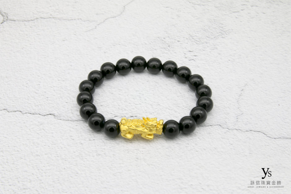 黃金貔貅手鍊1842502