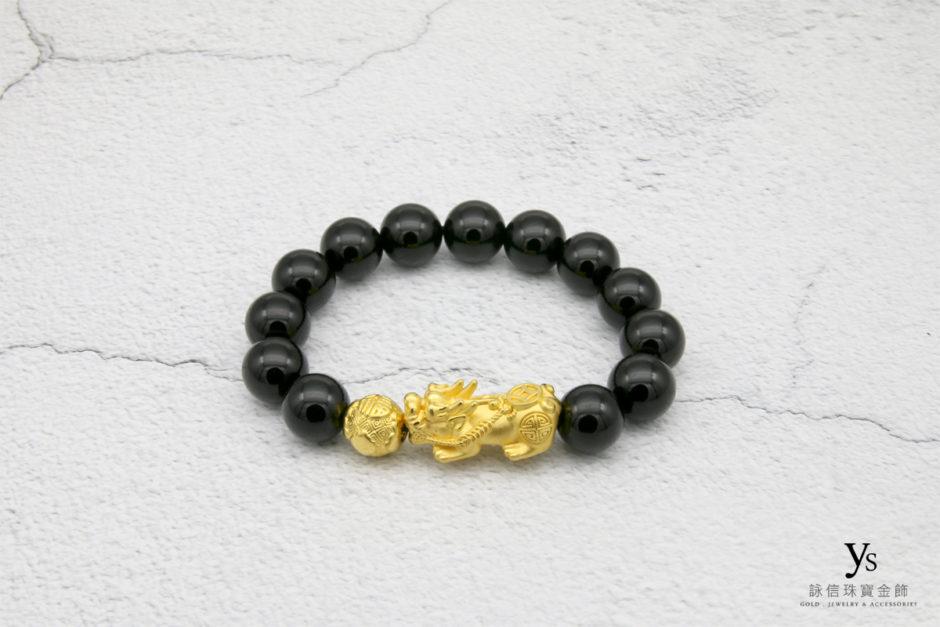 黃金貔貅手鍊1842503