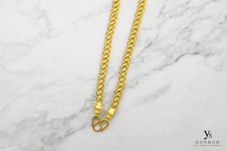 龍款男生黃金項鍊1842516