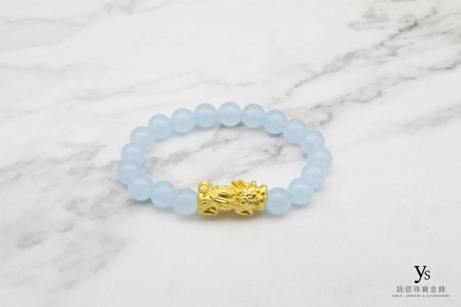 黃金貔貅手珠84302