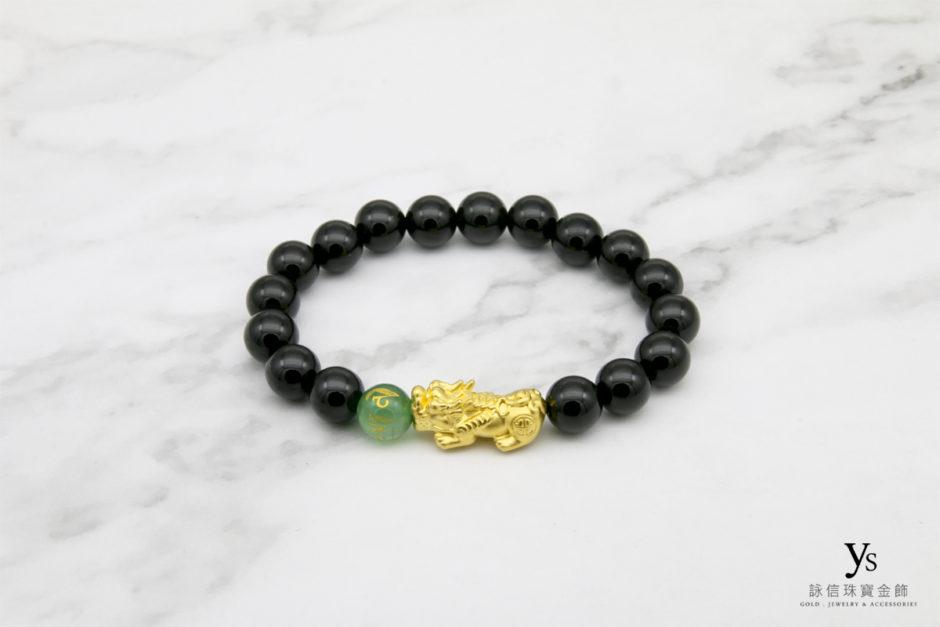 黃金貔貅手珠84304