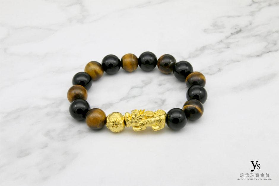 黃金貔貅手珠84309