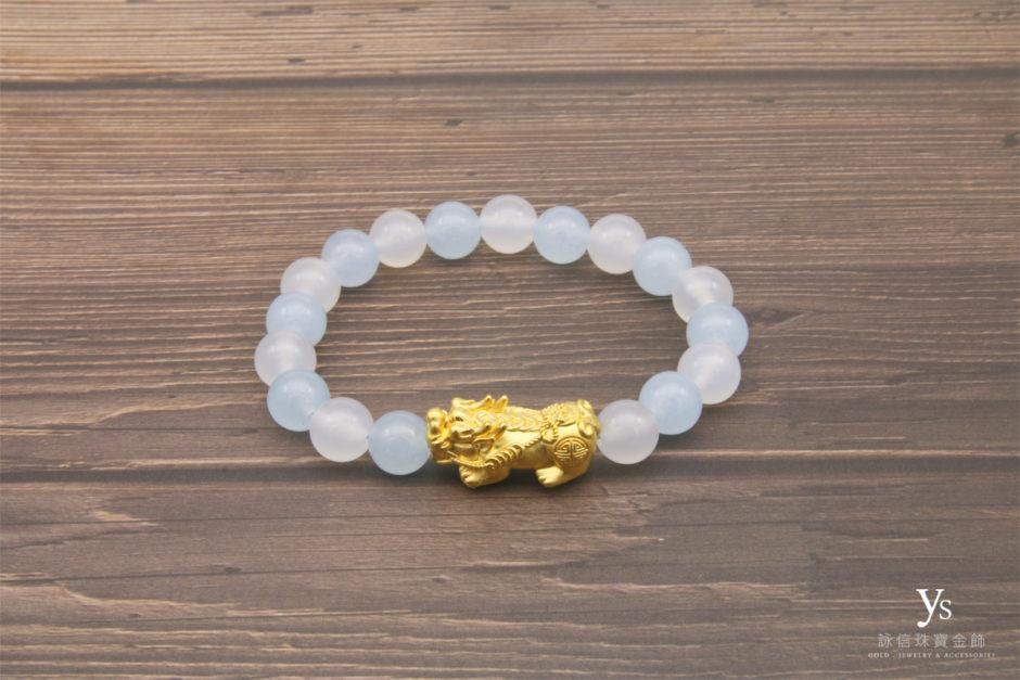 黃金貔貅手珠85178