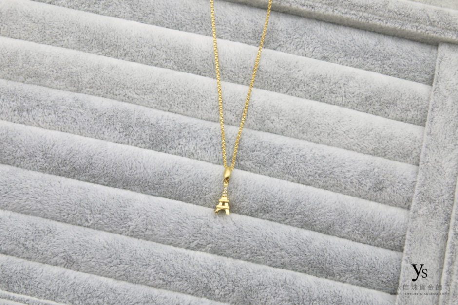巴黎鐵塔黃金項鍊1804114