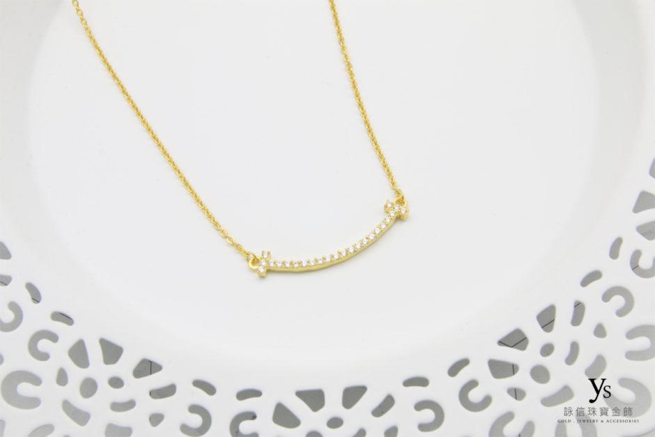 微笑黃金項鍊