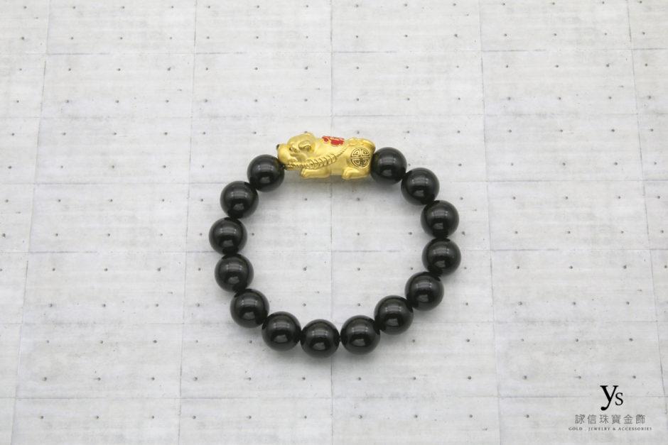 男生黃金手環18041144