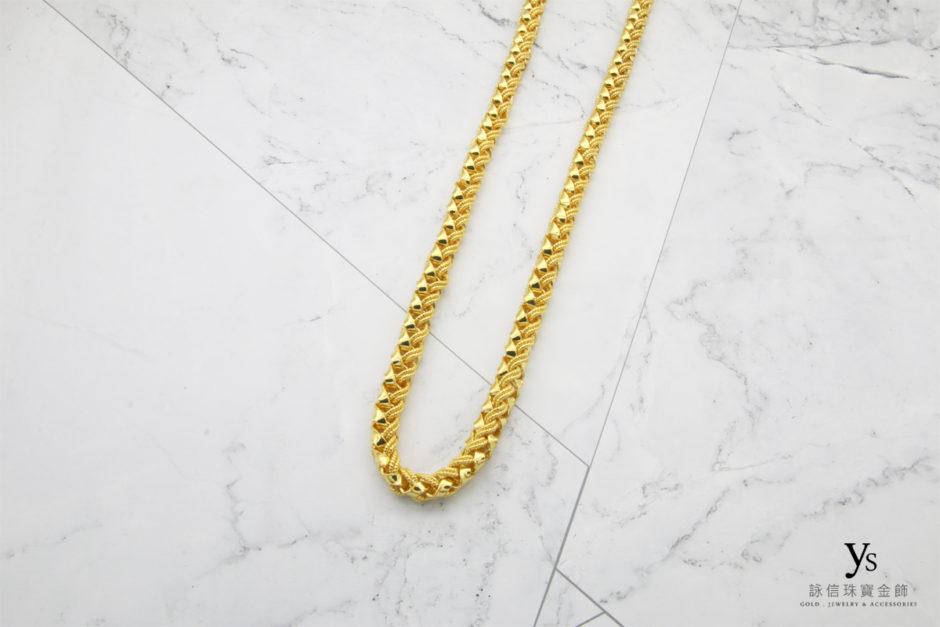男生黃金項鍊18041152