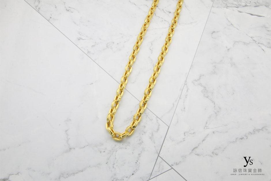 男生黃金項鍊18041153