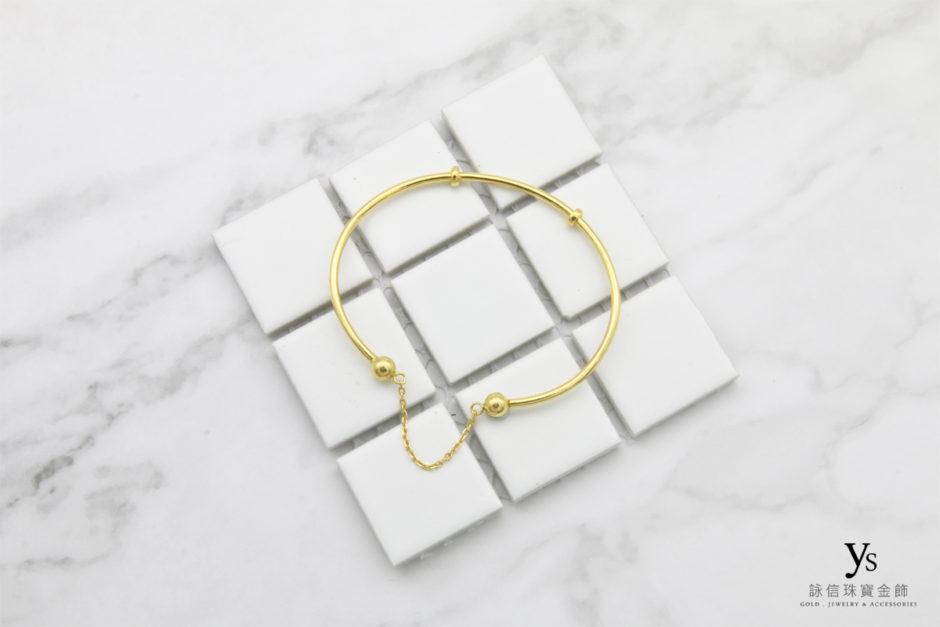 黃金手環18031
