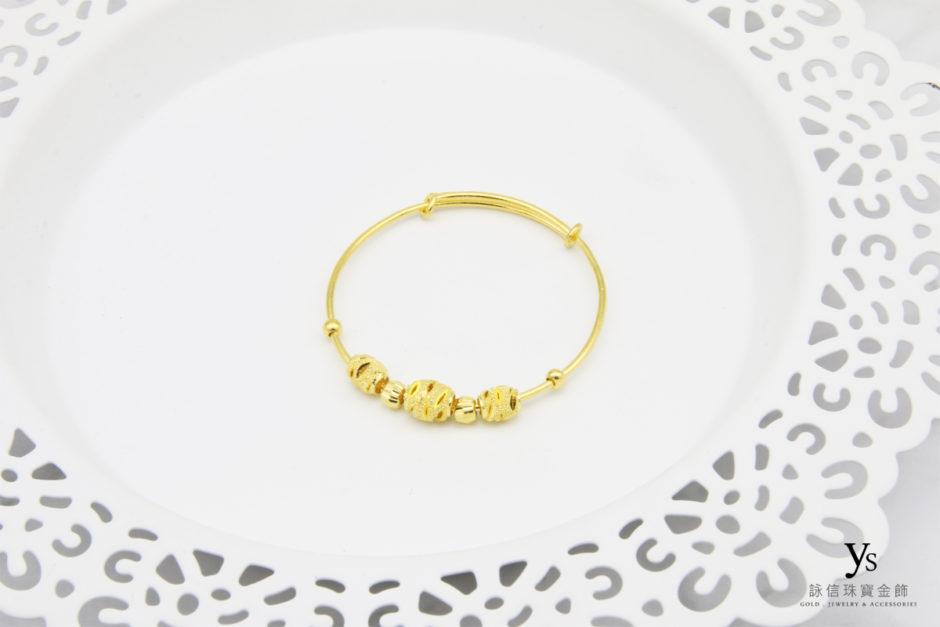彌月金飾-寶寶黃金手環85282