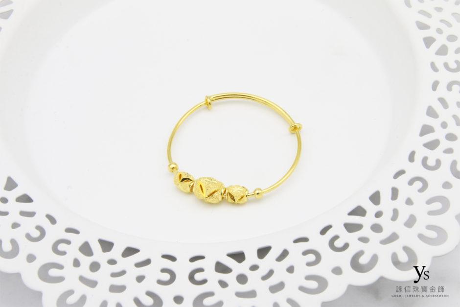 彌月金飾-寶寶黃金手環85283