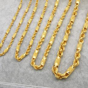 精選男生黃金項鏈/黃金項鍊推薦