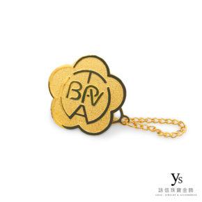 客製化金飾-黃金胸章