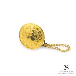客製化金飾-黃金胸針