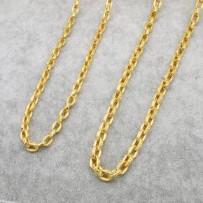 新款到貨-男生黃金項鍊推薦