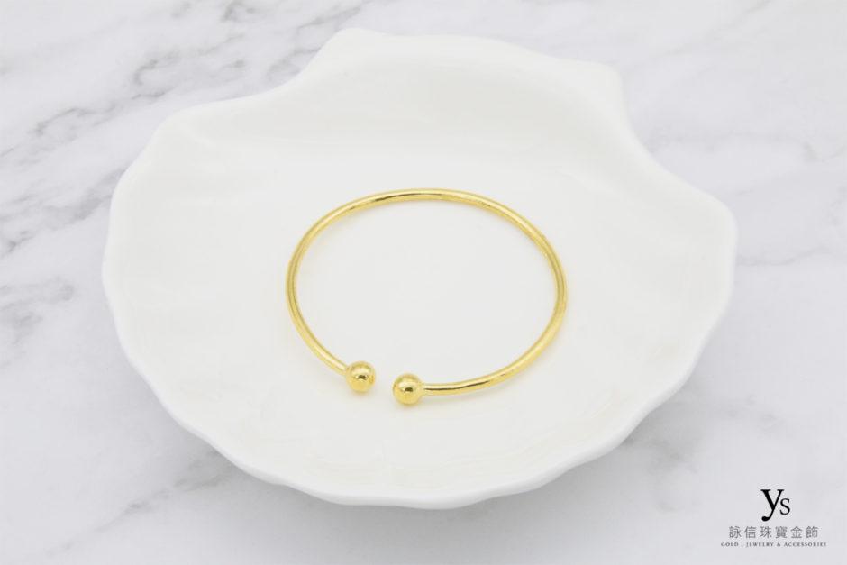 彌月金飾-黃金手環