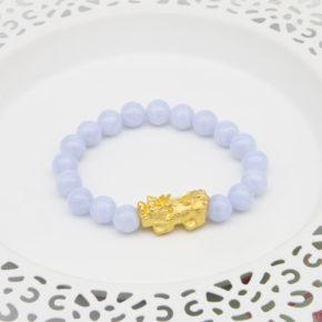 新款到貨-黃金手珠、黃金貔貅手珠