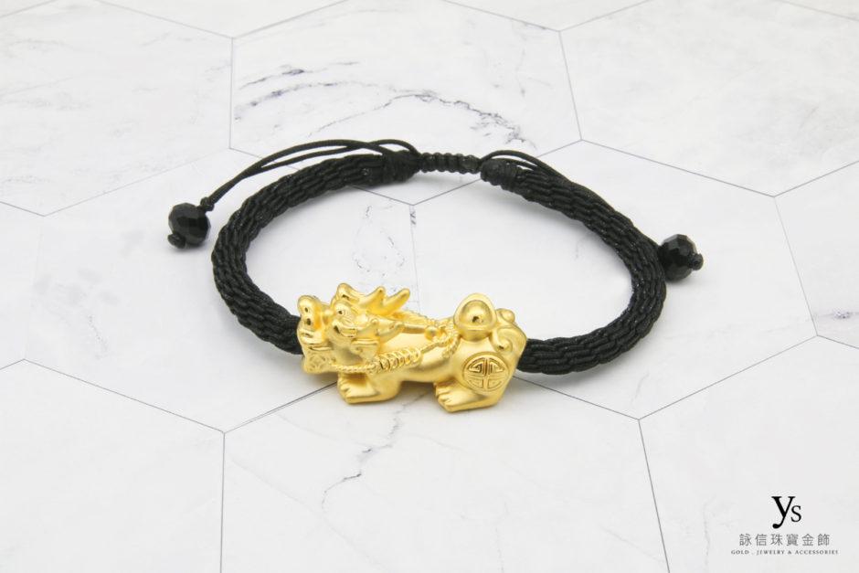 黃金貔貅手繩