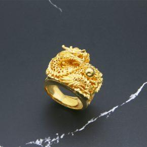 新款到貨-男生黃金戒指推薦
