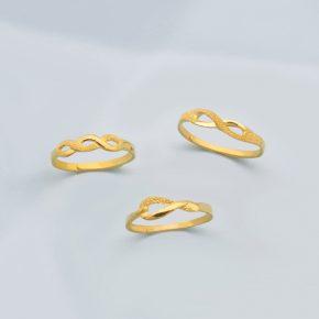 新款到貨-女生黃金戒指推薦